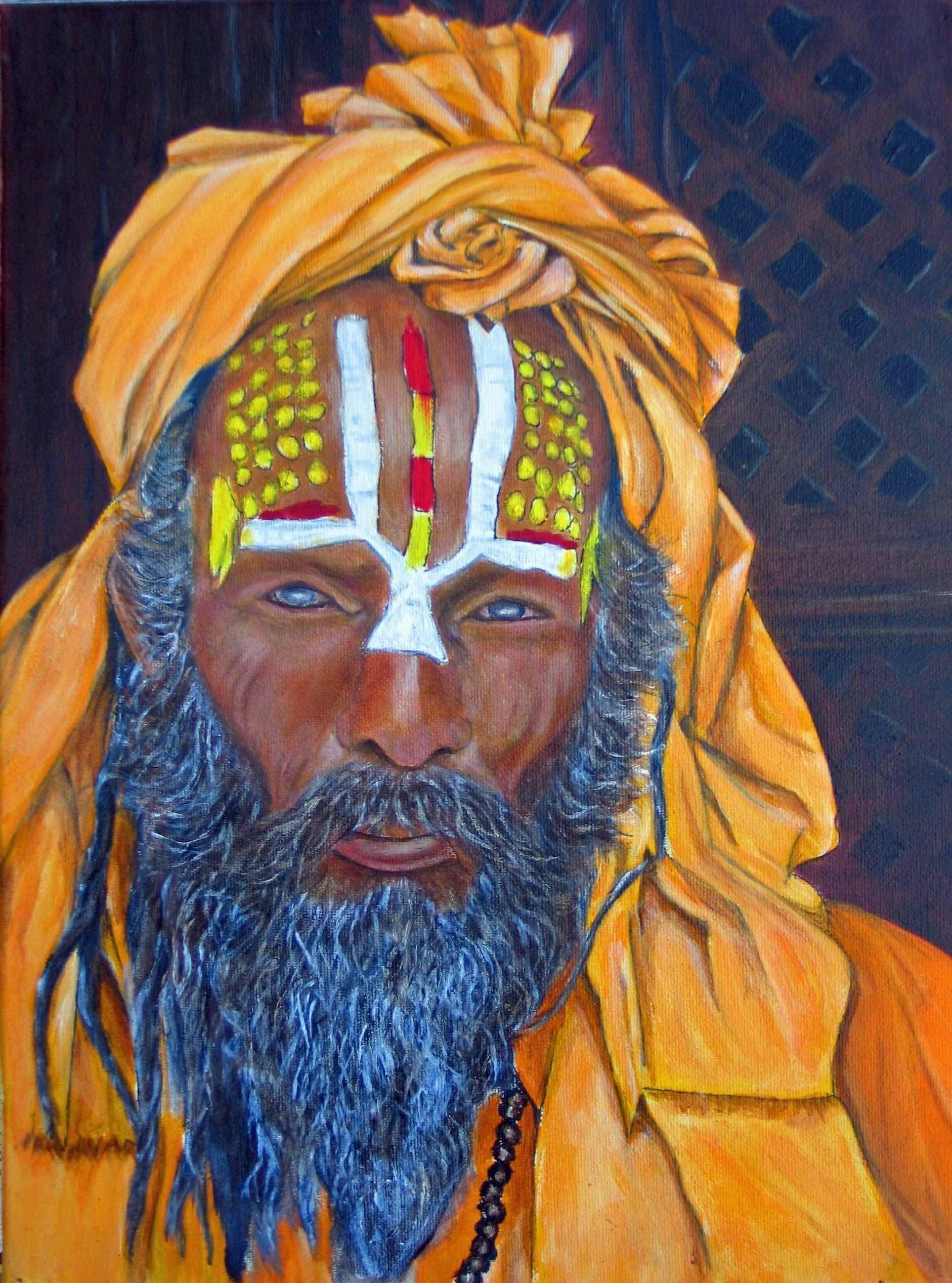 Hindu Fakir, Kathmandu (I)