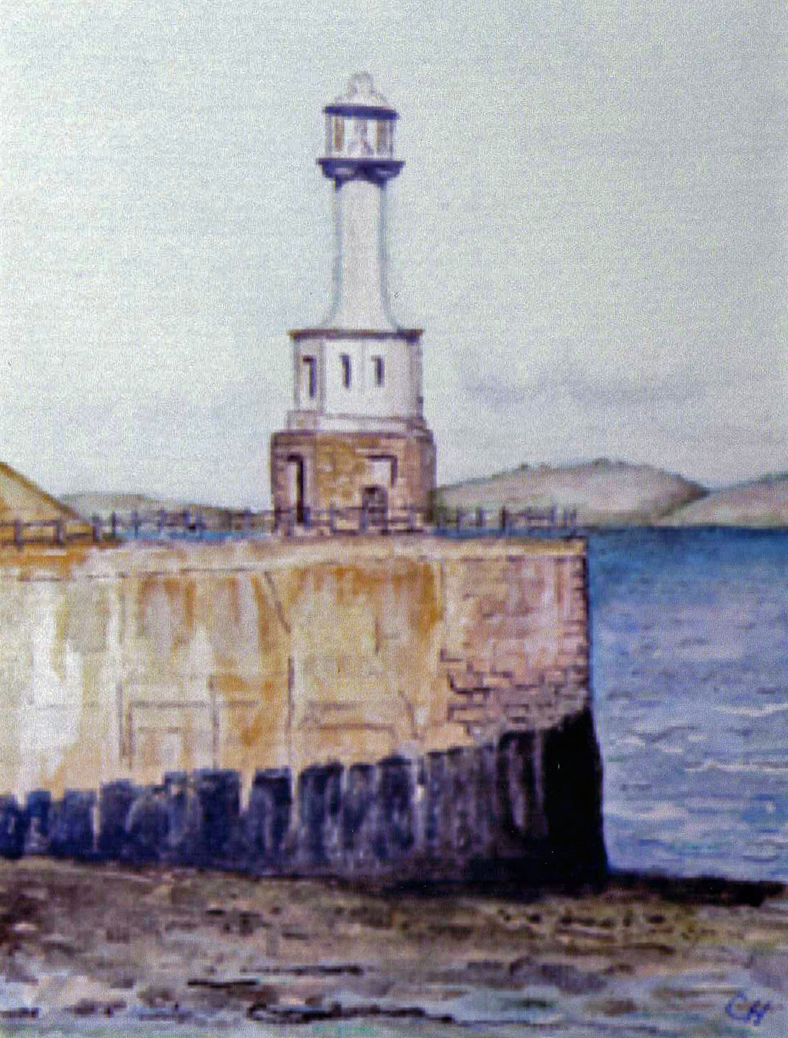 Lighthouse, Solway Firth