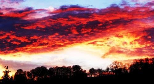 Night Sky Exmoor (photograph)