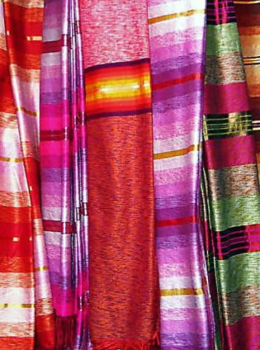 Nepalese Silks (photograph)