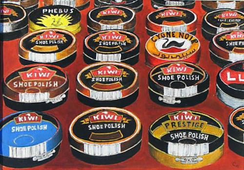Shoe polish tins. Morocco
